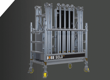 BoSS 700 Series Aluminium Access Towers are easy to transport and store