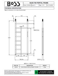 BoSS-DataSheet-S140038-B-700-Portal-Frame