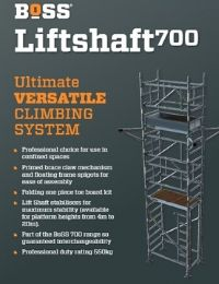 Liftshaft 700 Product Leaflet