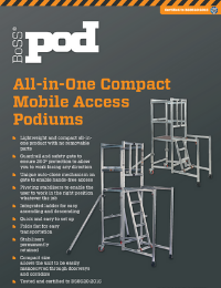 Podium Product Leaflet