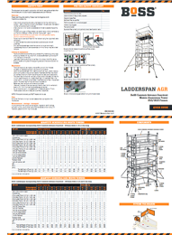 BoSS Ladderspan AGR Quick Guide