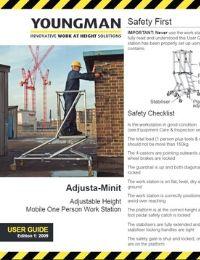 Adjustable Minit User Guide