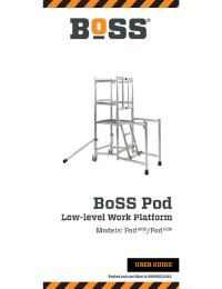 BoSS Pod Low Level Work Platform User Guide