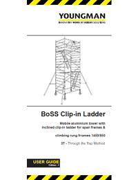 BoSS User Guide - Clip-in Ladder for Span Frames and Climbing Rung Frames