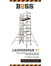 Portuguese Ladderspan 3T User Guide