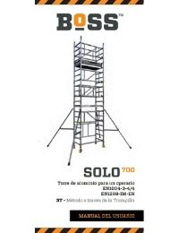 Spanish SOLO 700 User Guide