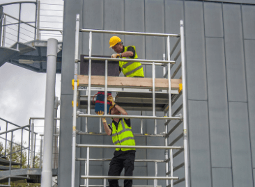 BoSS Clima Aluminium Access Towers - available in AGR or 3T builds