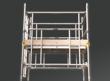 BoSS Ladderspan Aluminium Access Towers - available in 3T and AGR build methods