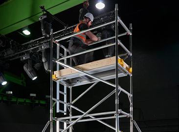 BoSS Ladderspan Aluminium Access Towers - Rigid and Robust