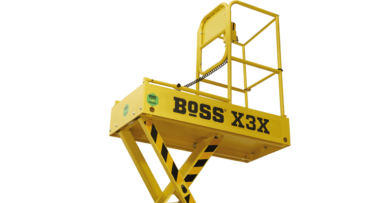 BoSS X-Series Confined Space Guardrail
