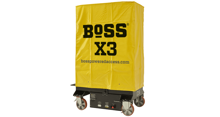 BoSS X3 Heavy-Duty All-Weather Cover