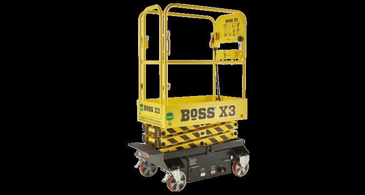 BoSS X3 Push Around Scissor Lift