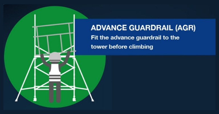 Approved tower build methods - Advance Guardrail AGR