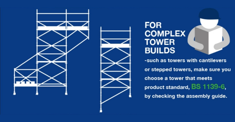 Product standard for complex tower builds