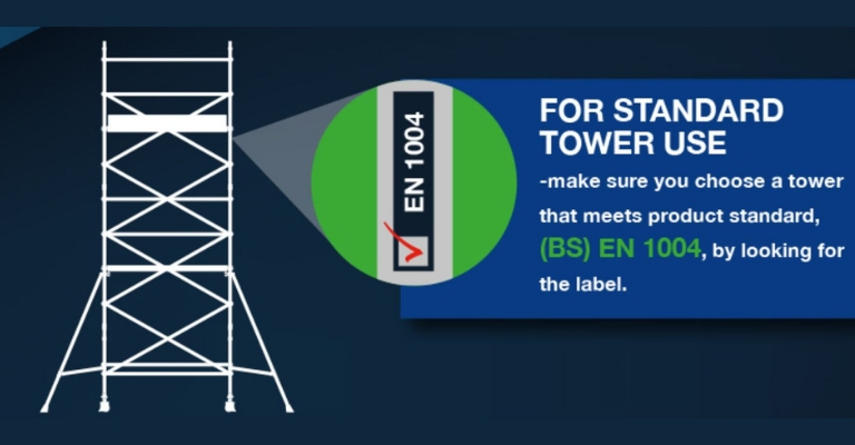 Product standard for standard tower use